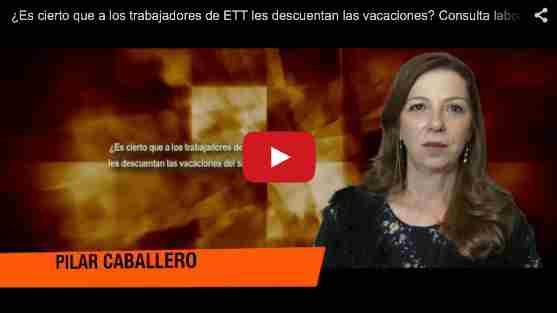 ¿Es cierto que a los trabajadores de ETT les descuentan las vacaciones? Consulta laboral